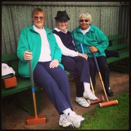 The Portland Croquet Club - The ladies