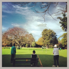 The Portland Croquet Club - lawns