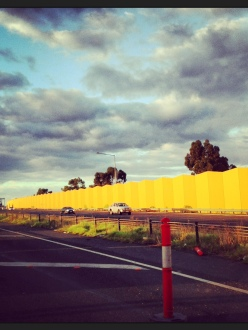 yellow highway