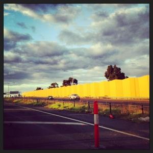 yellow highway