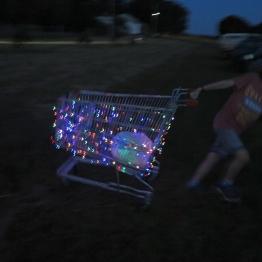 Night Trolley photo by Jo Grant