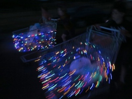 Shopping Trolley Swirl - photo by Jo Grant